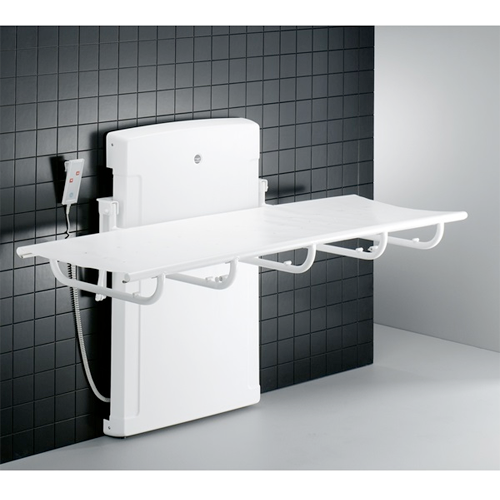 Adult changing table 1000, with electric motor